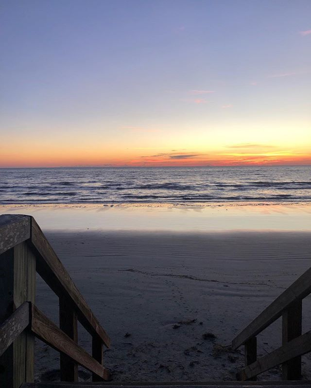 Christmas sunrise at @Jekyllisland.