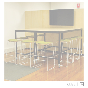 Kube Leaner Table