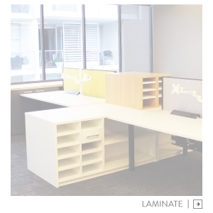 Melteca Wood Laminate Office Storage