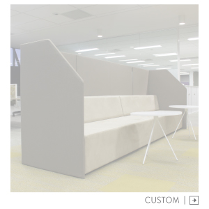 Custom Booth Banquet Soft Seating