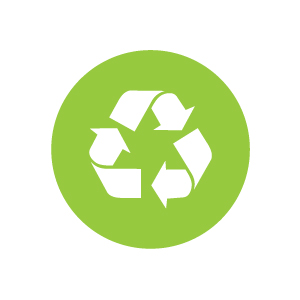 Lowering our carbon footprint is important to us. We recycle all raw materials and reuse where possible.