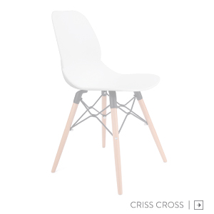 Criss Cross Meeting Chair