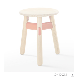 Okidoki stool