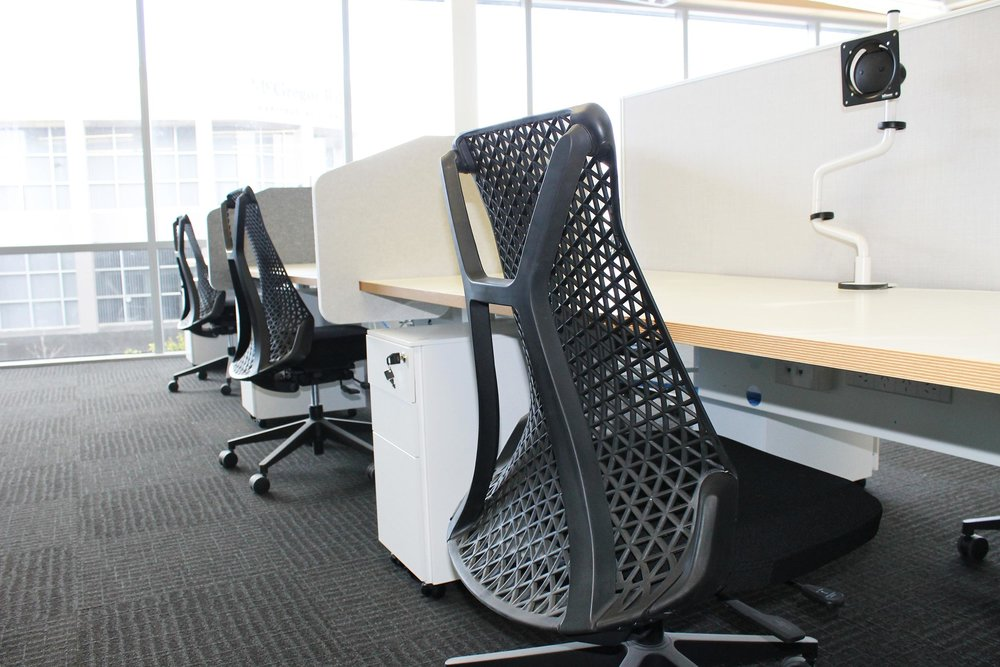 Why buy when you can lease? - We offer SmartLease commercial furniture leasing on any of our solutions and services over $3000. If budget is holding you back from creating your dream workspace, ask us about our SmartLease hiring or lease-to-own options. Check out your options and get an obligation-free quote here.