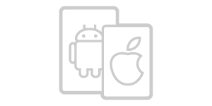 Apple & Android friendly.