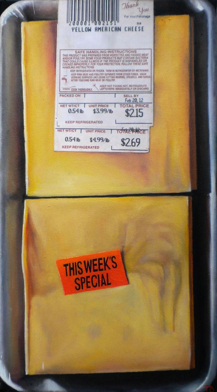 Yellow American Cheese