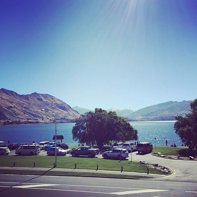 Just enjoying the calm before the storm of the #aandpshow this weekend up here at @alivatewanaka. Looking like a great weekend ahead but it will be a busy one so book your seats with the best view in #wanaka for a night of funky #asianfusion. See you soon!