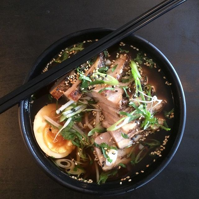 Our chefs have whipped up this amazing Pork Ramen special for you to enjoy. All this goodness for $16. #alivatewanaka #ramen #winterwarmers #lake wanaka #warmfire