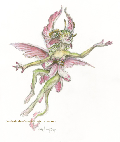 Pictured - a faerie