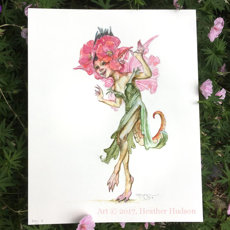 JF9 Poppy-Lizard Fae