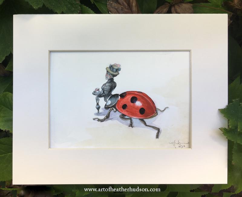 The Ladybug Fae says hello...