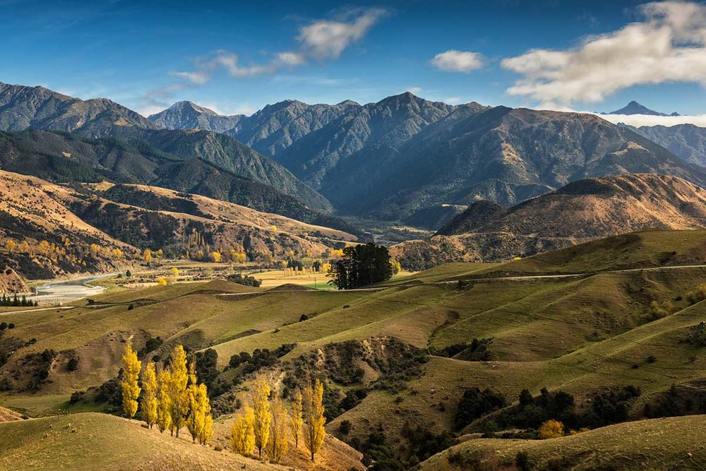 Autumn in the Clarence Valley, Kaikoura