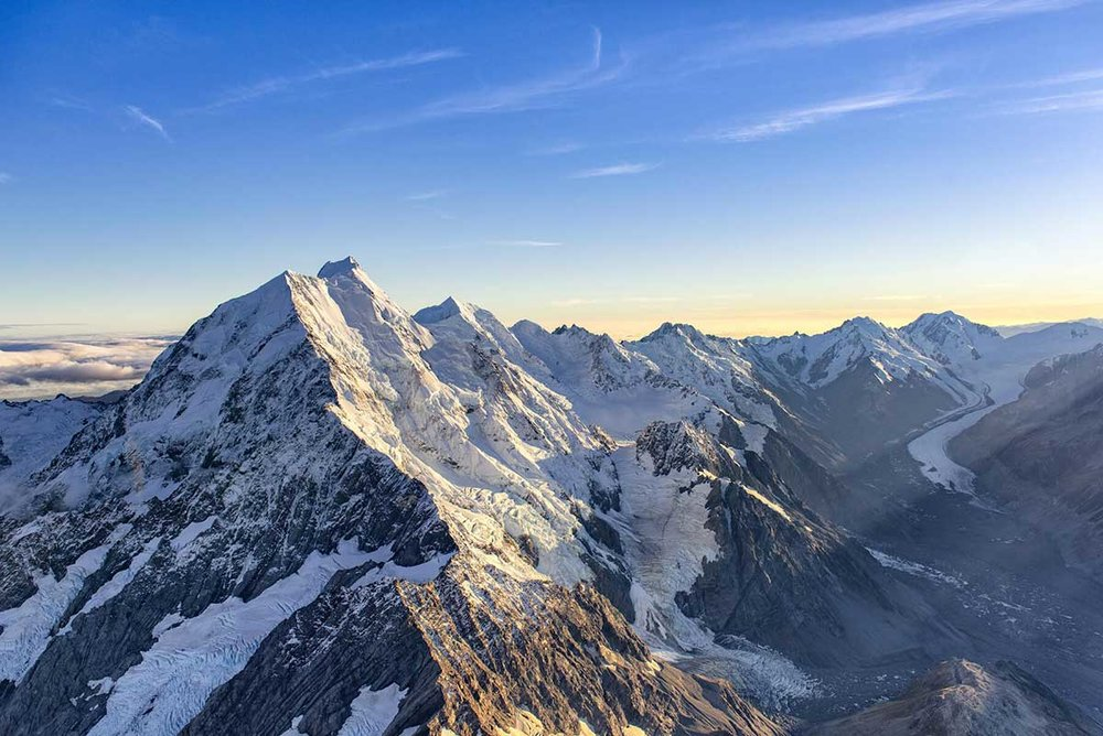 Mount Cook and the Tasman Glacier