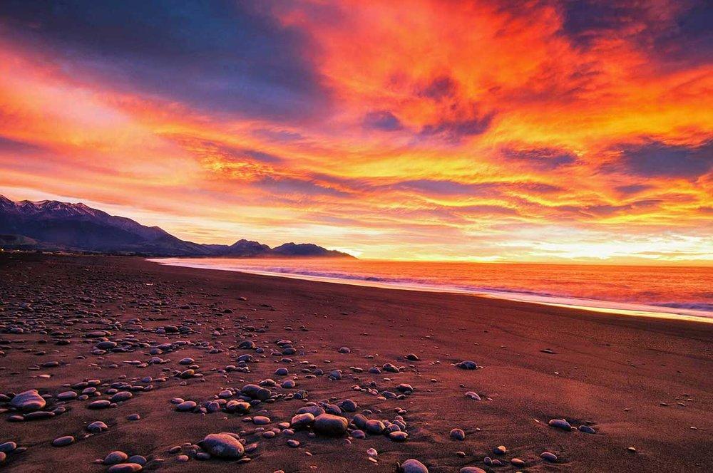 Pebbles on a Beach, Kaikoura