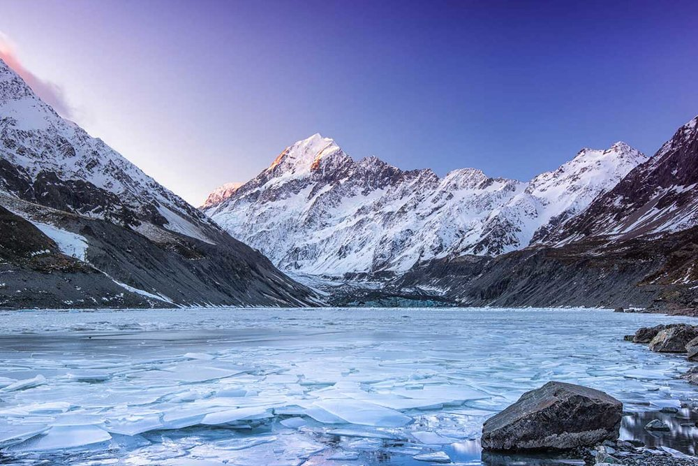 Hooker Lake, Winter