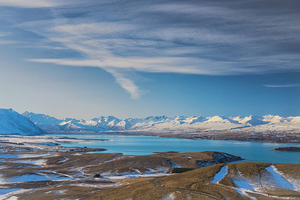 Lake Tekapo Winter