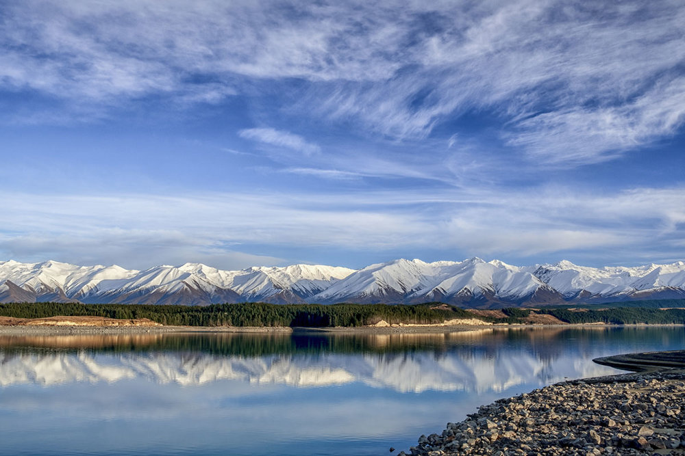 Ben Ohau and Lake Pukaki