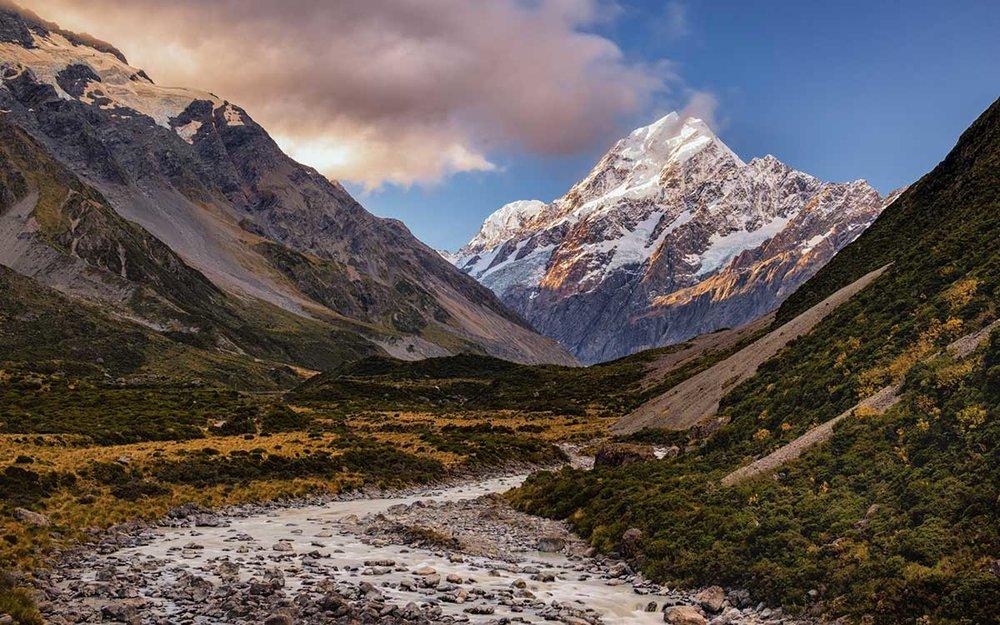 Hooker Valley, Aoraki-Mount Cook