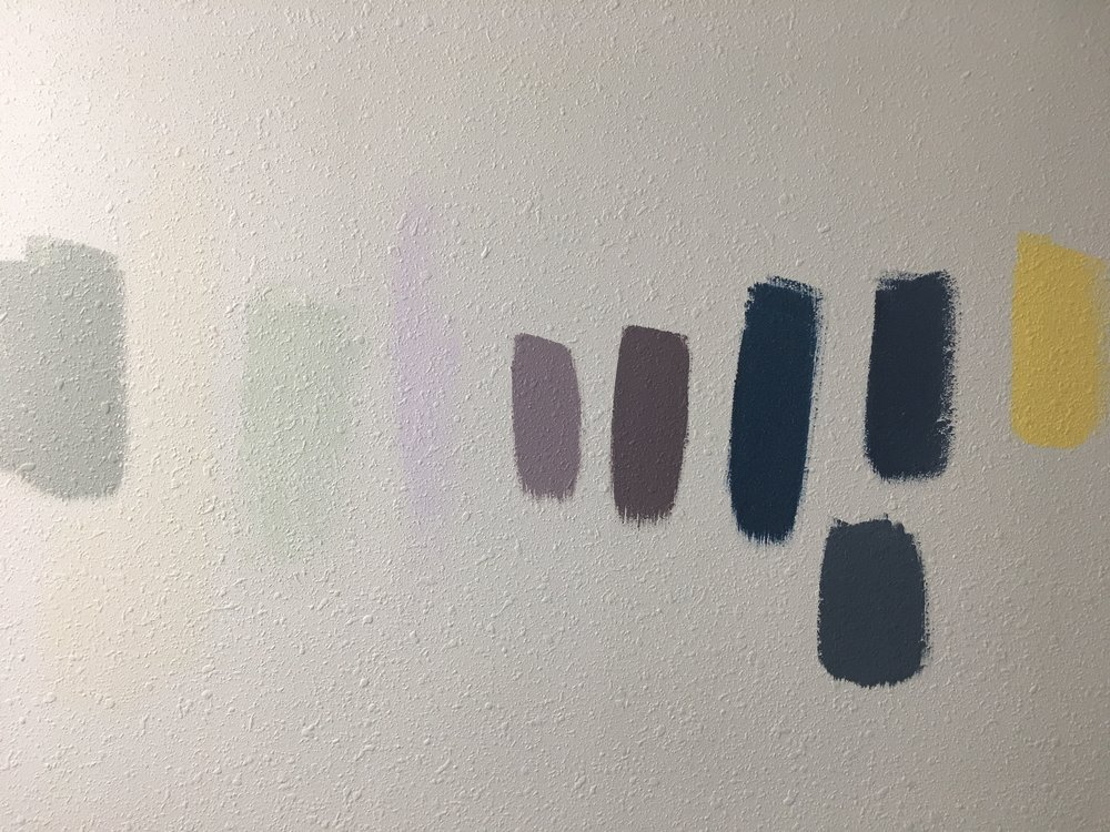 Still staring at those paint samples on the wall…