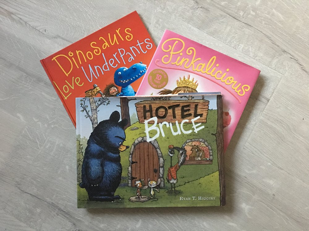 Four of my favorite children's books | Week 4 of 52: My 19 for 2019 Update
