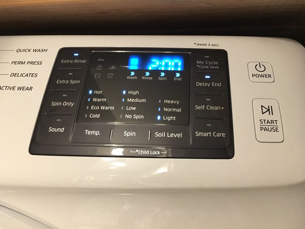 The delay end button on my washer is an absolute life saver for a clothes mildewer like me