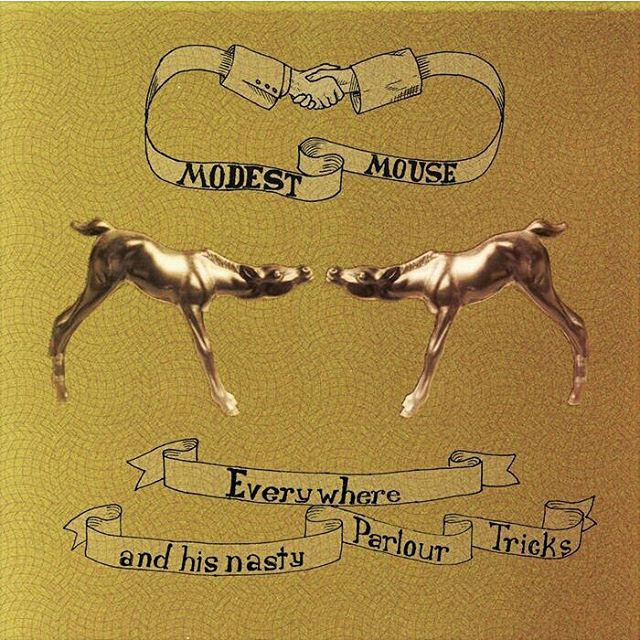 @modestmouse released Everywhere And His Nasty Parlour Tricks on this day in 2001. https://modestmouse.bandcamp.com/album/everywhere-and-his-nasty-parlour-tricks