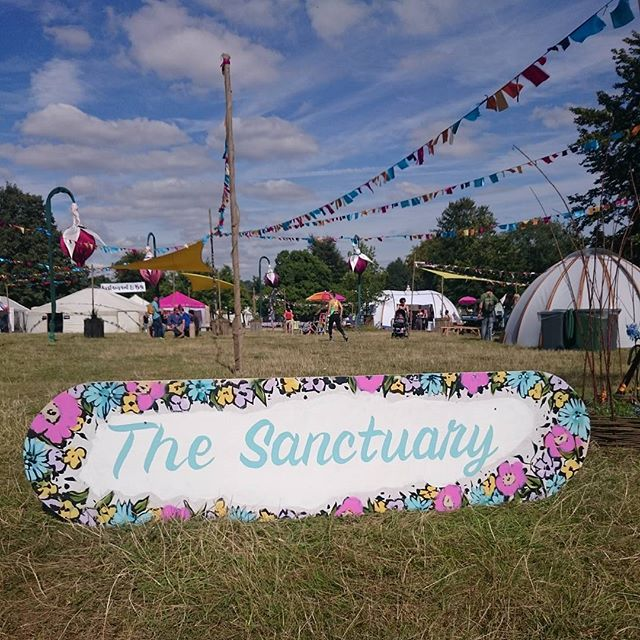 The sun is shining and the #sanctuary is looking lovely... See you soon #wilderness2015 revellers #wildwellbeing #massage #pamper #relax #enjoy #wellbeing