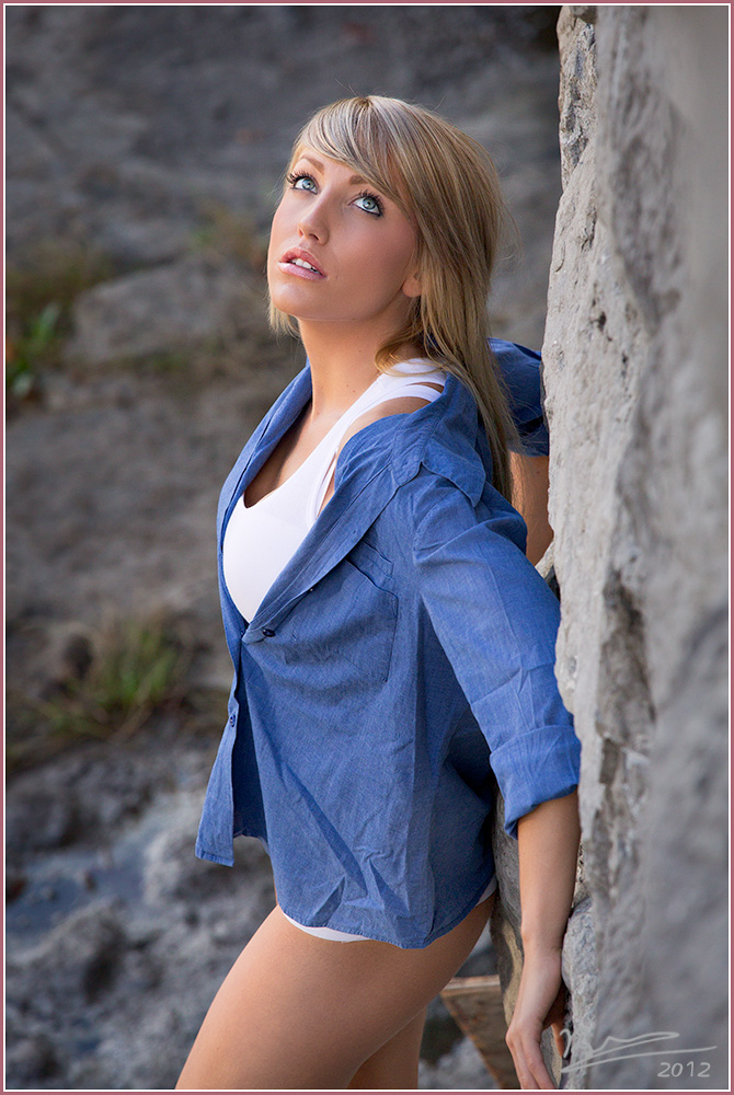 Photoshoot with Paige, West Carleton, Ontario, 2 Oct 2012.