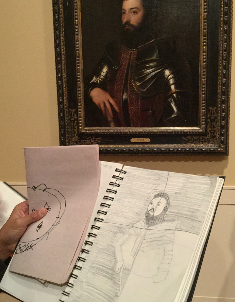 Titian's-Man-in-Armor-Contour-Drawing,-3rd-Grade.jpg