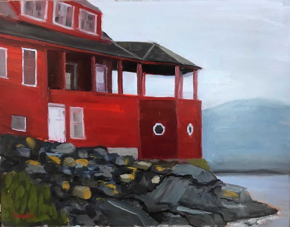 Red House- Monhegan
