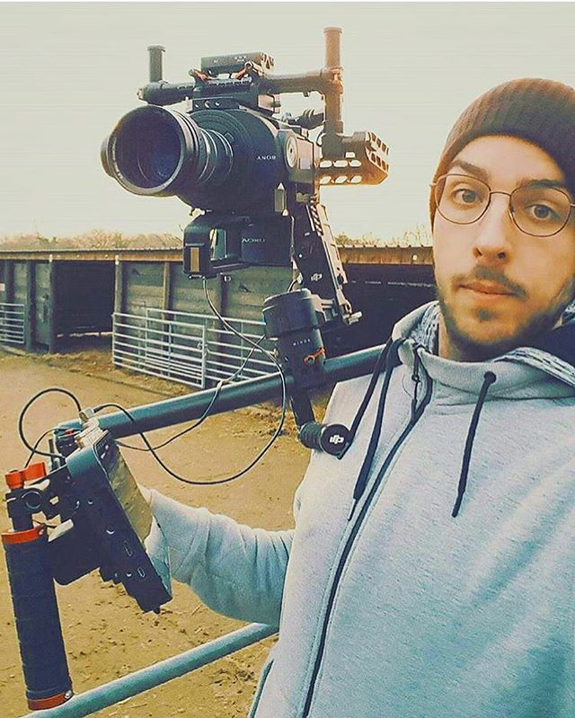 @thefriendlyactivist director of @seaspiracy using our DAISHO gimbal clamp on a fully loaded #djironin