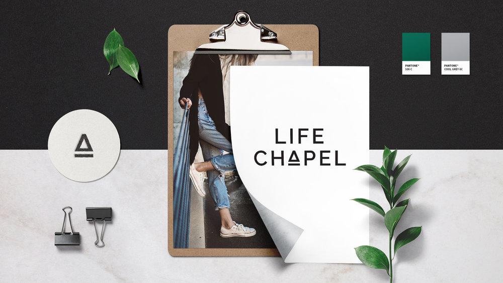 Life Chapel, Brand Identity, Perth, Graphic Design, Film, Studio, Goya, Stacie Beers, Ryan Lucas