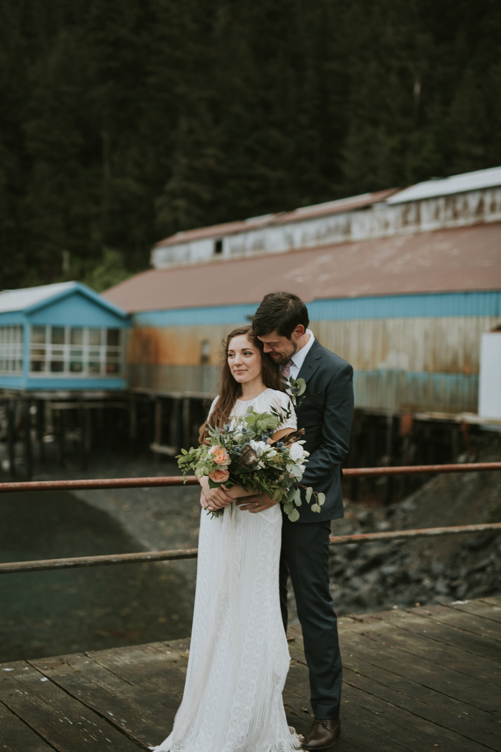JEN AND DANNY WEDDING - CORDOVA, ALASKA