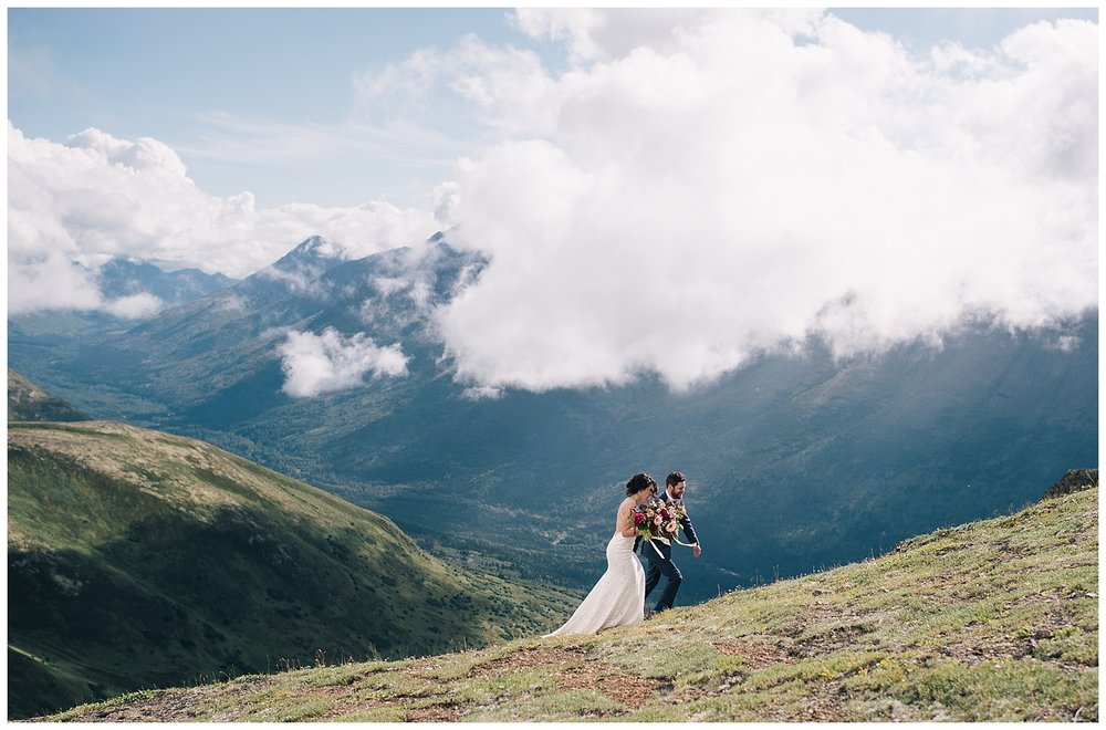 KRISTINA AND RYAN WEDDING - ARCTIC VALLEY