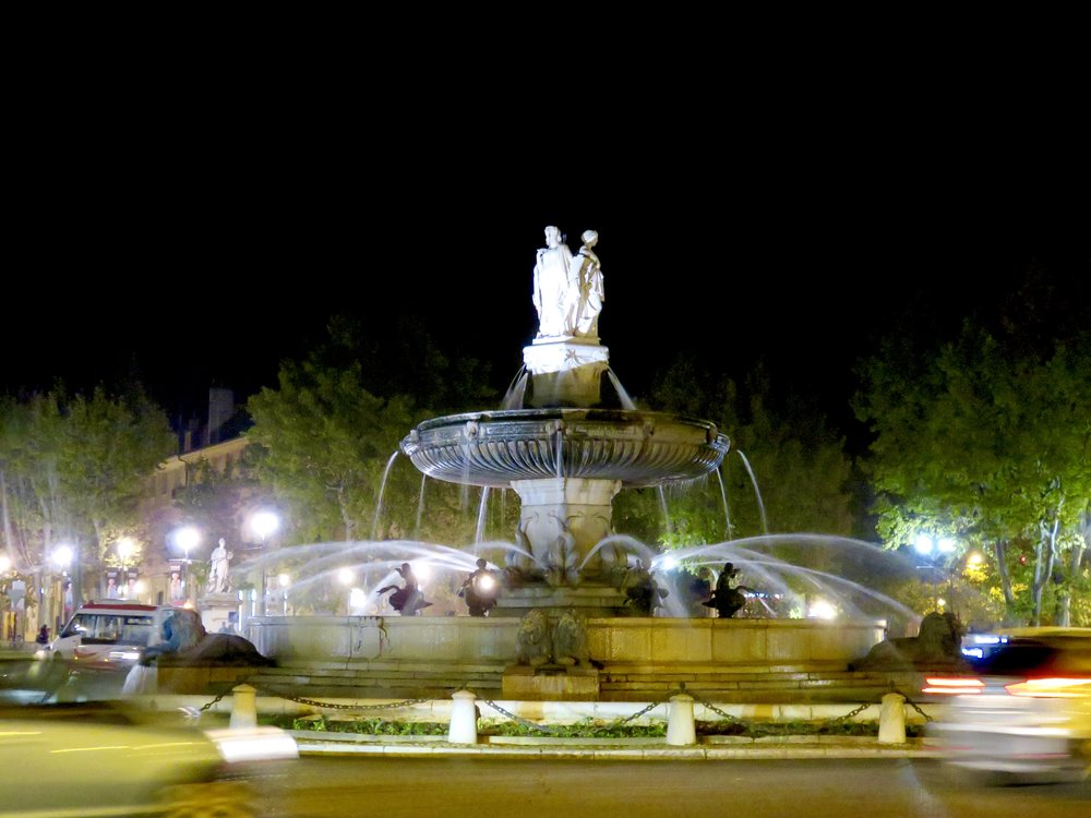 Aix, the City of Fountains