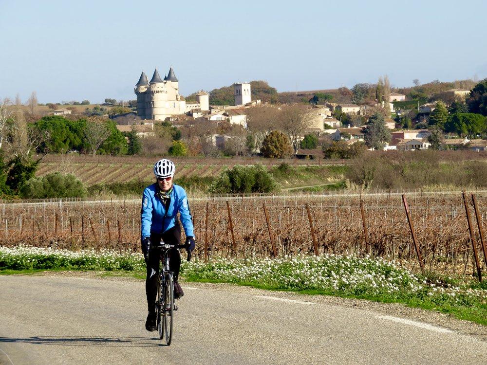 The biking, c'est formidable!