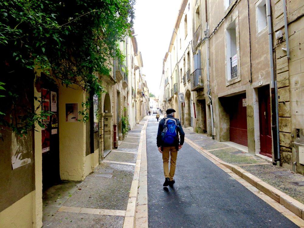 The streets of Pézenas...