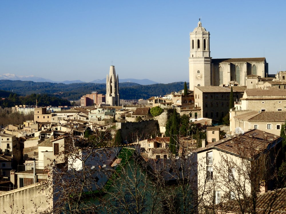 Girona (...from the city ramparts)