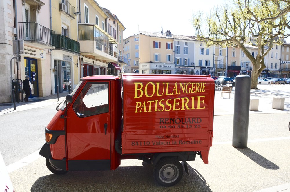 Bread is life in France!