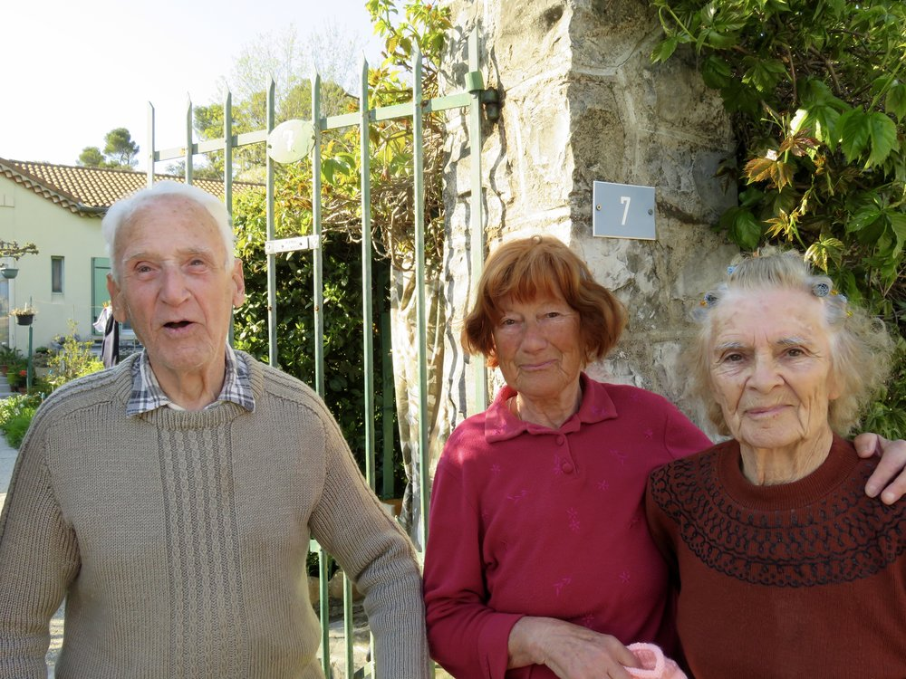Our funny, friendly French (as in no English) neighbours!