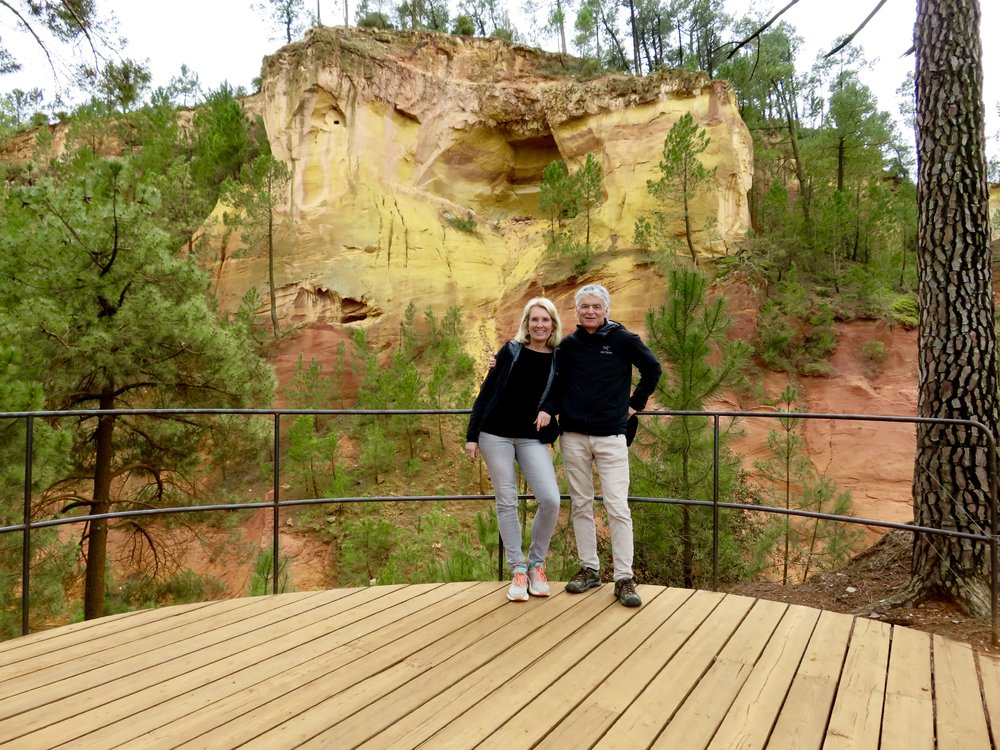 """""""The Ochre Trail"""" in Roussillon"""