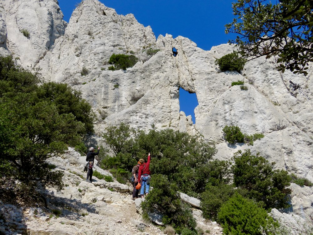 The Dentelles: Haven for hikers & climbers