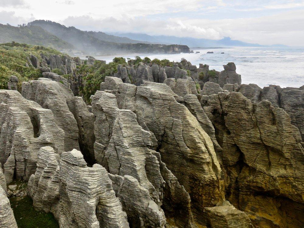 The Start: Pancake Rocks, Punakaiki