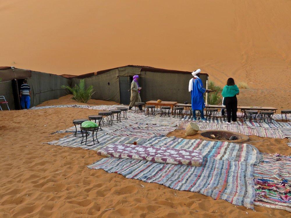 Our Berber Camp
