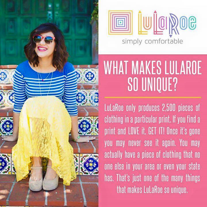 Image courtesy of LuLaRoe.