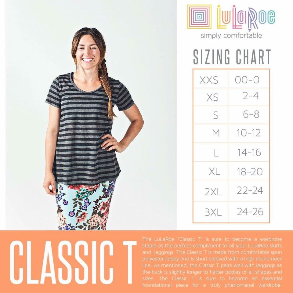 Lularoe Classic T With Carly