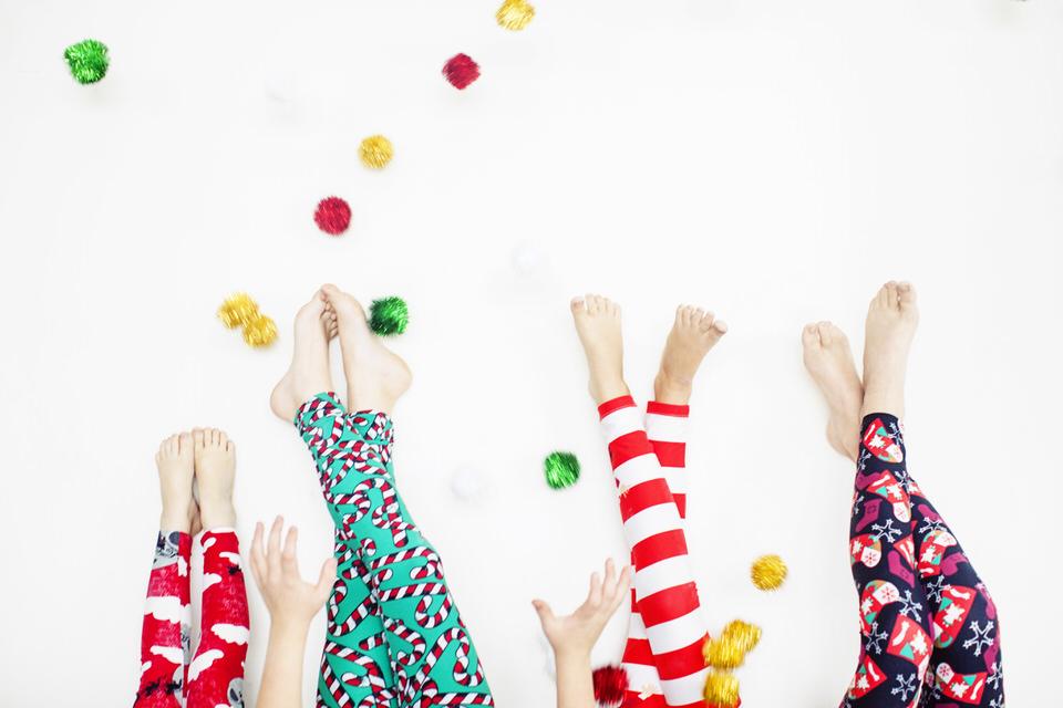 Candy Cane LuLaRoe Leggings