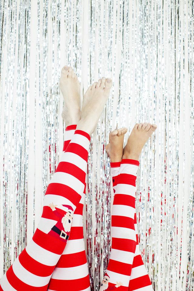Kids Candy Cane Leggings LuLaRoe