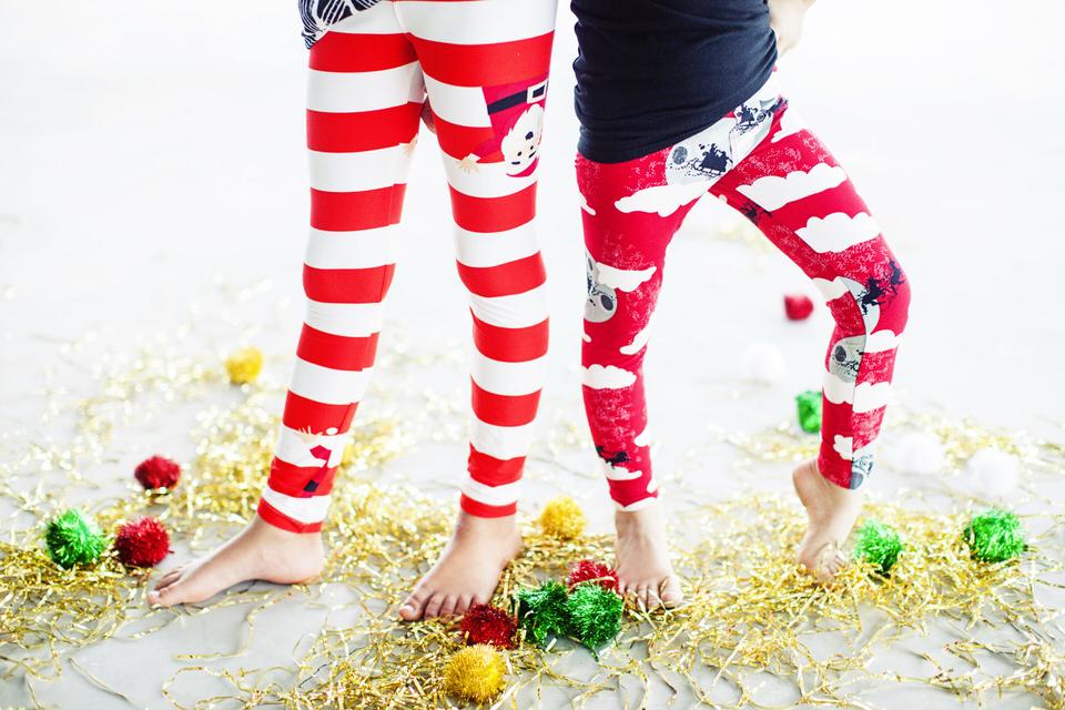 Candy Cane Leggings LuLaRoe