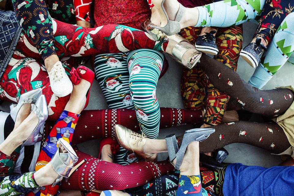 Christmas LuLaRoe Leggings